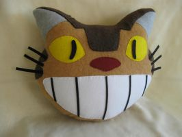 Catbus Pillow by 4avatarlov