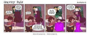 Gravity Falls: Artifacts 3 by illeity