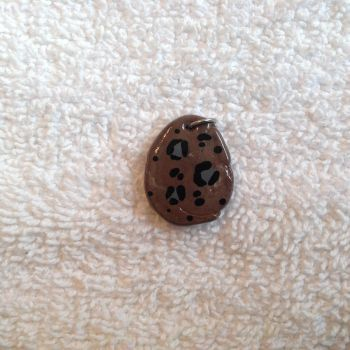 Faux Stone w/ Leopard Print by Gold-Heart-Clay