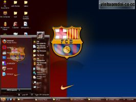 Barcelona Theme for XP by vinhxomdoi