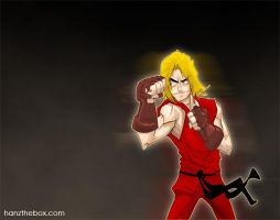 Ken Masters by hanzthebox