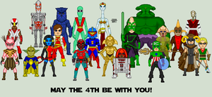 May the 4th be with you... by EverydayBattman