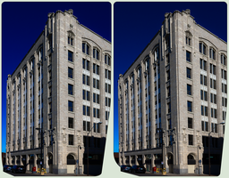 Whalen Building Outside 3D :: HDRbyRAW Stereoscopy by zour