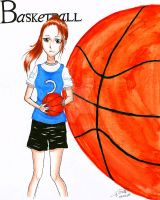 Basket-ball player by Mikkie33