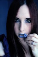 Mystery Blue by Stephanie-van-Rijn