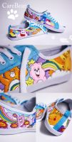 CareBear Shoes by Bobsmade