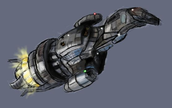 Firefly: Serenity Doodle by justira