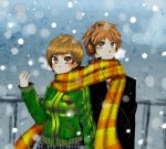 AT: snowy day by manisaurus
