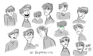 Vol Expressions by animegirl43