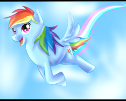 Rainbow Dash by JokerSyndrom