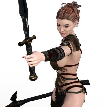 Model PNG by 35-Elissandro