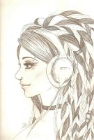Dreadfalls and Headphones by strangers--infection