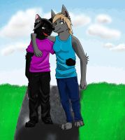 :Point Com: for GreyeWolf by ChrisGShep