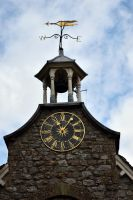 DSC 0043 Clocktower, Bellcote and Weathervane 1 by wintersmagicstock