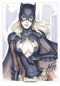 batgirl New Final by Artgerm