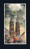 Wroclaw II - cathedral by sanderus