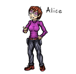 Trainer Alice by pokecat