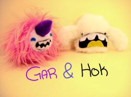GAR AND HOK by loveandasandwich