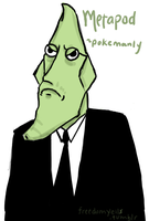 MANLY METAPOD by Oranjes