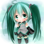 Hatsune Miku Chibi by Usagi9Dream