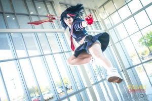 Ryuko Matoi Cosplay: Incoming Asswhoopin by Khainsaw