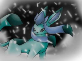 Glaceon by MephilesTheCute09