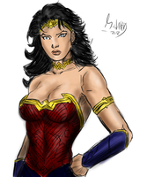 Wonder woman v2 by mikewalters