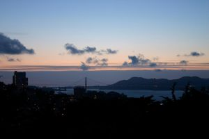 Golden Gate at night from Coit by nwalter