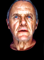Sir Anthony Hopkins by donvito62