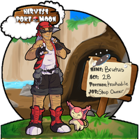 Harvest PokeMoon: Brutus by Lhumina