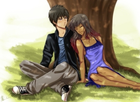 Forever - Aaron and Autumn by kuro-br