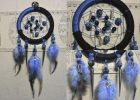 Lily Blue Dreamcatcher by Aiko-Wolf