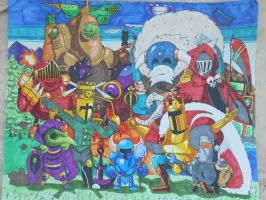 Shovel Knight Group Shot by TEHTACOMAN12321