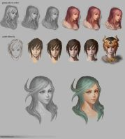 Color Process study by Marfrey