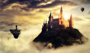 Kingdom in The Clouds... by chrismyhero