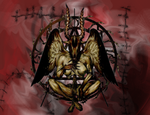 Samael background by MintMongoose