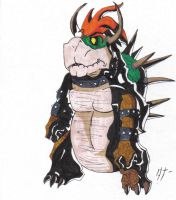 Vewtiful Bowser by huskeyfrog