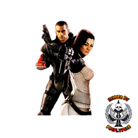 Shepard and Miranda Render 01 by PimplyPete