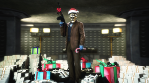 Merry Christmas heisters by evgenyprice