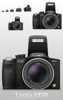 Lumix FZ38 by Kshegzyaj