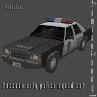 R.P.D. Squad Car by DamianHandy