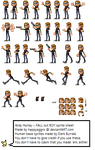Andy Hurley Sprite Sheet by HappyAggro
