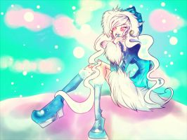 She Was Cool And Blue Like Ice by Bippie