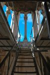 Bell tower inside - Sv. Duje by ReneHaan