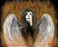 Fallen Angel - Andy Biersack by BloodyRose123123