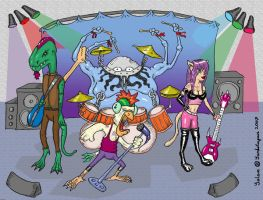 monsters of rock by yalchinosis
