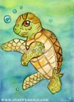 Amatae The Sea Turtle by Starrydance