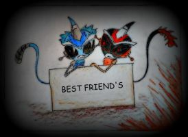 Best friends (request) by MechanicalWhite