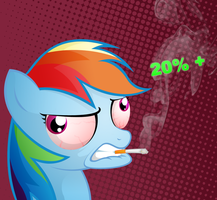 You so cool Rainbow Dash by MisterDavey
