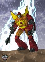 Rodimus Prime - colour by hellbat